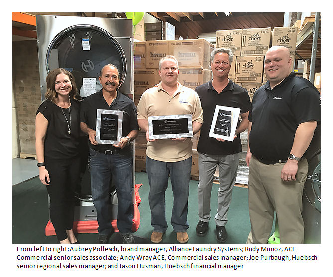 Huebsch Distributor of the Year image